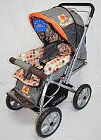 Детская коляска Sigma H-225F серая, фото 1