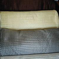 Ткань сетка серая металлик
