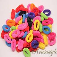 Резинки на волосы цветные, фото 1