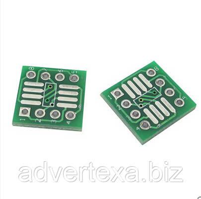 Переходник адаптер SOP8 SO8 SOIC8 SMD - DIP8