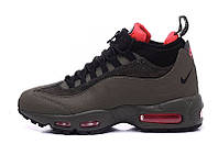 Мужские кроссовки Nike Air Max 95 Sneakerboot Dark Brown/Red