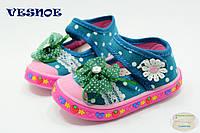 Детская обувь оптом. Детские кеды - слипоны бренда Jong Golf для девочек  (рр. с 20 по 25)