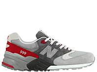 Мужские кроссовки New Balance 999 Grey/Red