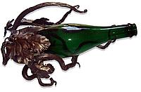 Кованая подставка под бутылку «Лоза»