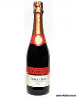 Шампанское (вино) Fragolino Fiorellii красное (клубничное, земляничное) Италия 750мл