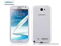 Чехол Momax iCase Pro для Samsung N7100 Galaxy Note II, белый