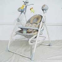Колыбель-качели Baby Tilly  3в1 BT-SC-0005 GREY с пультом