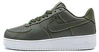 Женские кроссовки NikeLab Air Force 1 Low (Найк Аир Форс низкие) хаки