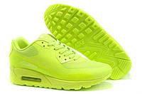 Женские кроссовки Nike Air Max 90 Hyperfuse салатовый