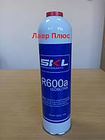 Фреон  R600a SKL (изобутан - 420 г.) Под клапан