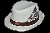 Шляпа  детская Пистолет  с вышивкой   красивая на мальчика, девочку  для праздника или утренника  стильная