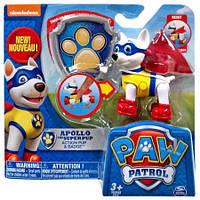 Щенячий патруль -Щенок Аполло -с медалью -Paw patrol Nickelodeon, фото 1