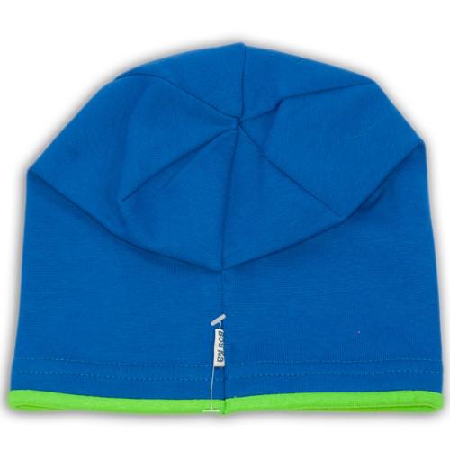 трикотажная шапка с защипом