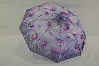 """Женский зонт полуавтомат """"цветок"""" от фирмы """"Lantana"""" на 9 карбоновых спиц"""