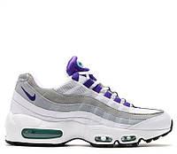 Мужские кроссовок Nike Air Max 95 QS White/Court Purple