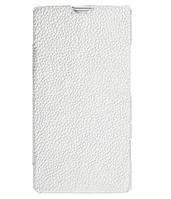 Чехол-книжка Melkco для Sony Xperia SP C5303, белый