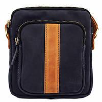 Синяя сумка из матовой кожи VATTO Mk48Kr600.190