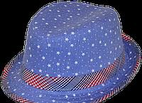 Шляпа  детская Зірочка стильная,  красивая на мальчика, девочку  для праздника или утренника  в детский сад
