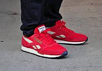 Мужские кроссовки Reebok Classic Leather Red 3