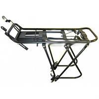 Багажник для велосипеда три трубы усиленный алюминиевый. Велосипедный багажник. Велобагажник. Багажник вело.