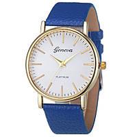 Наручные часы синие