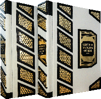 Немецкое холодное оружие  в 2-х томах переплет ручной работы, кожа Сертификат. Бархатный чехол