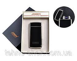 USB запальничка з двома перехресними блискавками і лічильником використання (Електроімпульсна) №4780-2