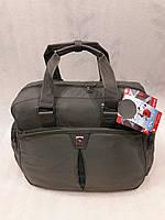 Cумка спортивная дорожная текстильная OIWAS 2903 grey