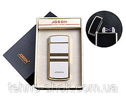 USB запальничка з двома перехресними блискавками і лічильником використання (Електроімпульсна) №4780-3