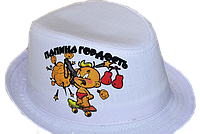 Шляпа  детская Папина Гордость на мальчика, девочку  для праздника или утренника  в детский сад, стильная