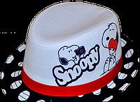 Шляпа  детская Снупи  на мальчика, девочку  для праздника или утренника  в детский сад, стильная, модная