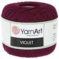 Ярнарт Виолет 50г/282м 0112 фуксия