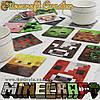 """Подставки под чашку MineCraft - """"Minecraft Coaster"""" - 20 шт. (7 х 7 см.)."""