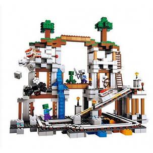 Конструктор Lele серия My World 79074 Шахта (аналог Lego Майнкрафт, Minecraft 21118), фото 2