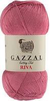 Газзал Рива (Gazzal Riva) 100г/500м 163 розовый