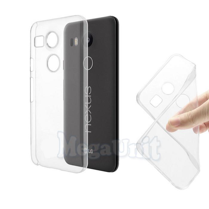 Прозрачный силиконовый чехол для LG Nexus 5X (h791)