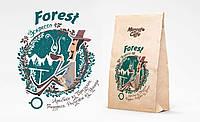 """Кофе в зернах """"Форест"""" свежая обжарка"""