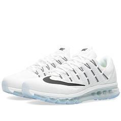 Мужские кроссовки Nike Air Max 2016 белые топ реплика