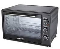 Электрическая мини-печь Astor CZ-1655 B, духовка настольная, компактная мини печь духовка для дома