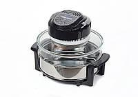 Аэрогриль Astor KHC-1161 Black, универсальный прибор для кухни, аэрогриль кухонный для дома на 12л 1300Вт