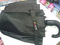 Классический черный складной мужской зонтик