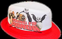 Шляпа  детская Панда  на мальчика, девочку  для праздника или утренника  в детский сад, стильная, модная