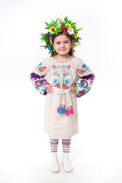 Дитячі вишиті плаття