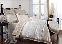 Комплект  постельного белья  жаккард bella villa евро размер 0002