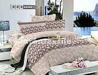 Сатин набор постельного белья евро