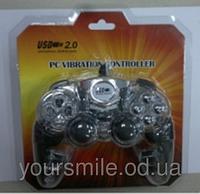 Джойстик проводной USB DJ-262 PC прозрачный