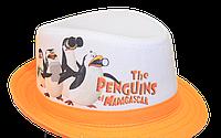 Шляпа  детская Мадагаскар  на мальчика, девочку  для праздника или утренника  в детский сад, стильная, модная