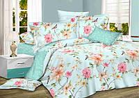 Сатин набор постельного белья цветы