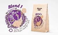 """Кофе в зернах """"Бленд №1"""" свежая обжарка"""