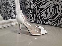 Туфли копия Christian Louboutin Белые